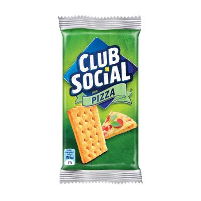 Club Social Pizza C/6 141g Mondelez