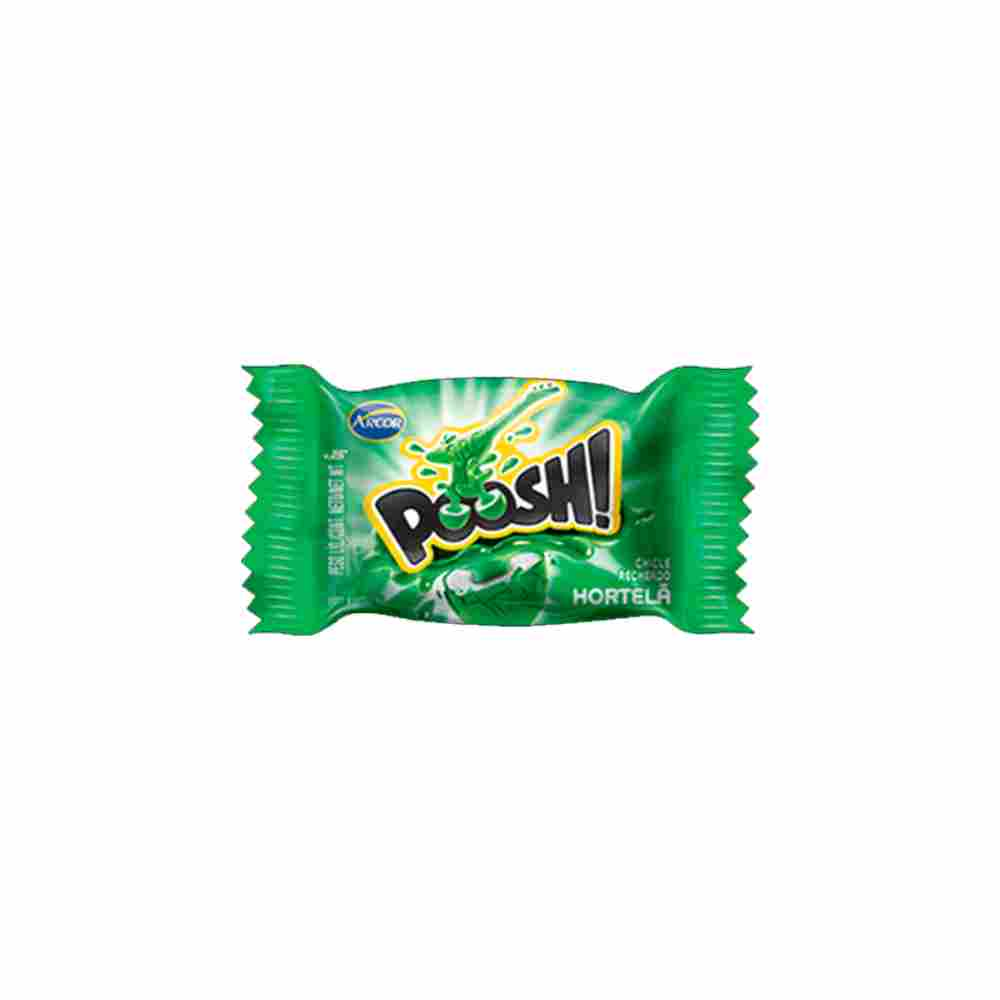 Chiclete Poosh Hortela 200g Arcor