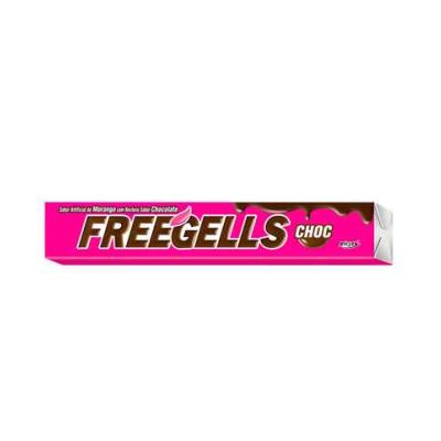 Drops Freegells Chocolate/morango Un Riclan