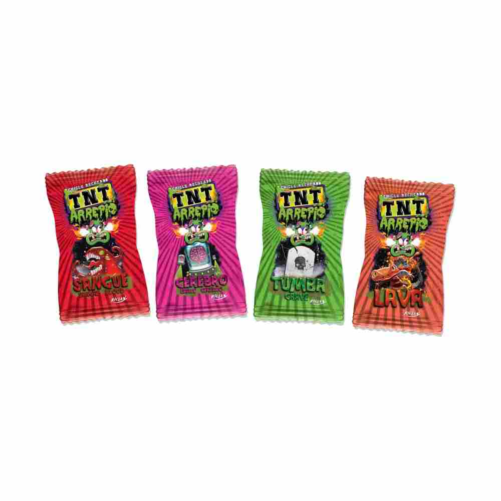 Chicle Tnt Arrepio 228gr Riclan