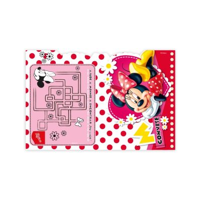 Convite  Red Minnie C/8 Regina