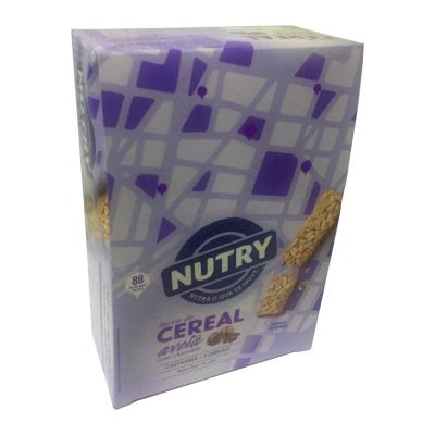 Barra de Cereal Avelã c/chocolate Nutry 24x22g