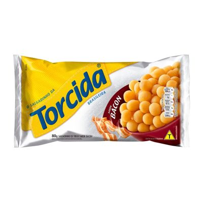 Torcida Bacon 80g Lucky