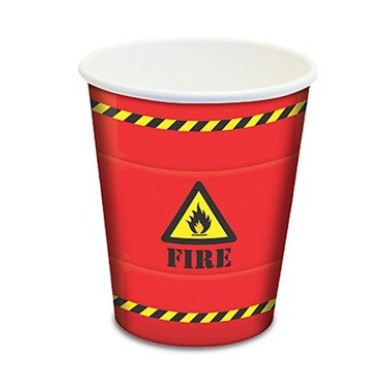 Copo Desc.Papel  Fire Junco 8 un