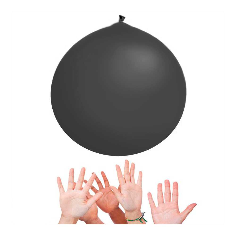 Balão Big 350 Liso Preto Happy Day