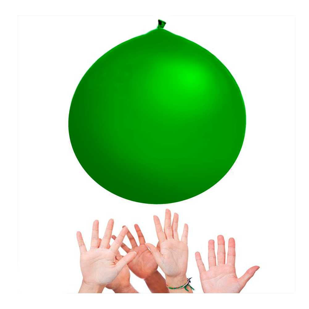 Balão Big 350 Liso Verde Happy Day