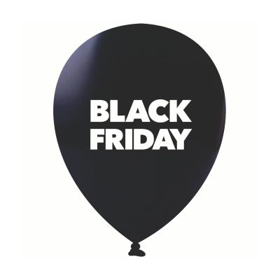 Bexiga Nº11 Black Friday C/25 Happy Day