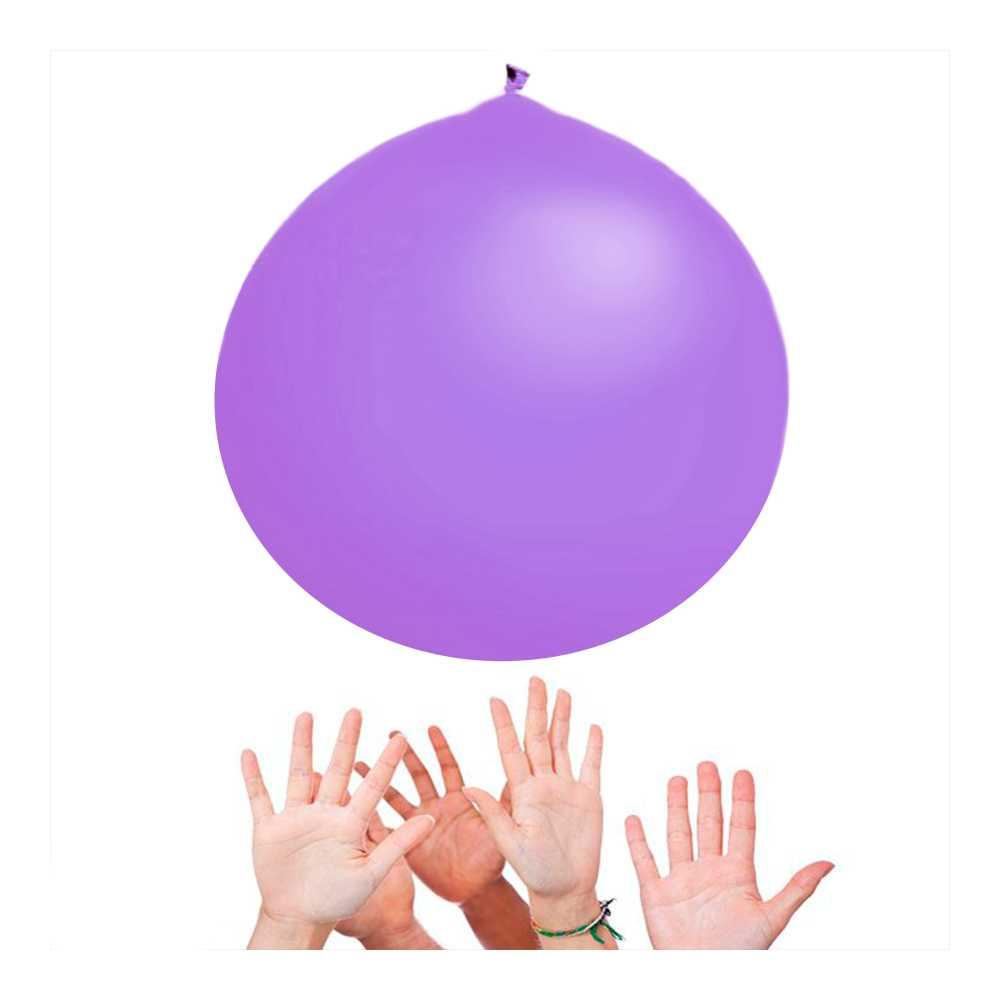 Balão Big 350 Liso Lilas Happy Day