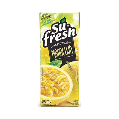 Suco 200ml Maracuja Sufresh