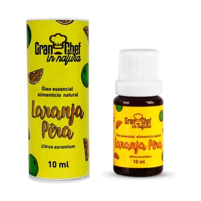Oleo Essencial Natural Laranja 10ml
