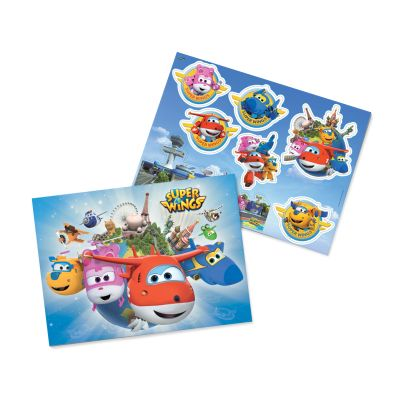 Kit decorativo Super Wings Festcolor