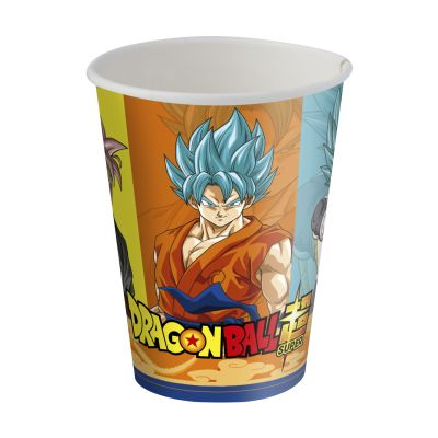 Copo Dragon Ball 200 Ml C/8 Unds. Festcolor
