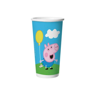 COPO  PEPPA C/8 180ML REGINA