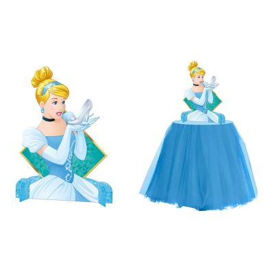 Personagem decorativo R271 Princesas Amigas Cinderela Regina