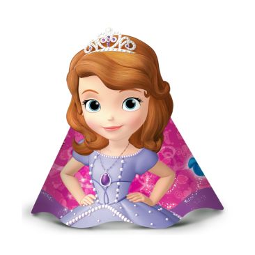 CHAPÉU  SOFIA THE FIRST REGINA