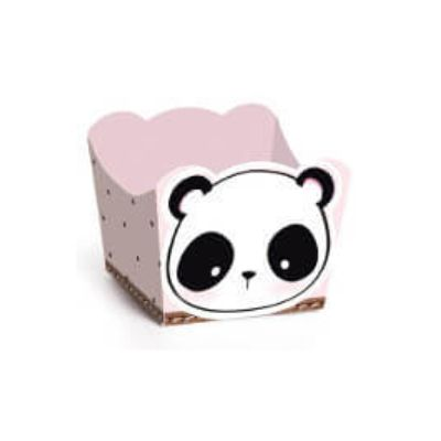 Forminha P/ Doce Panda C/24unds 28610532 Cromus