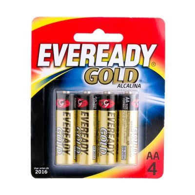 Pilha Eveready Gold Aa C/ 4 Unds. Eveready